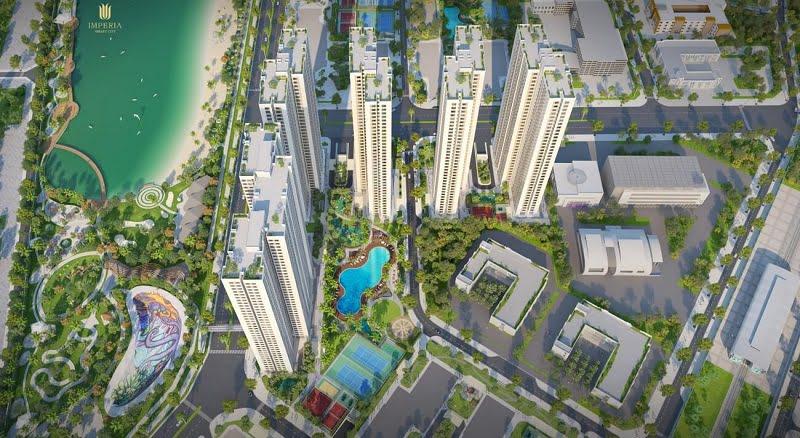 Tiến độ xây dựng chung cư Imperia Smart City