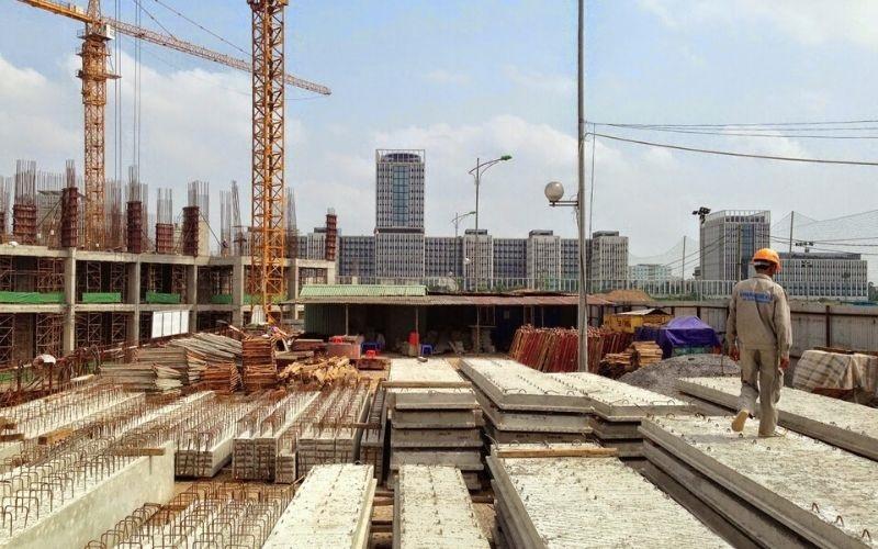 Hình ảnh thực tế tiến độ thi công chung cư Imperia Smart City Tây Mỗ