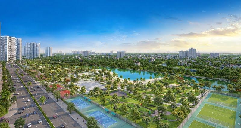 Tiến độ xây dựng Vinhomes Smart City