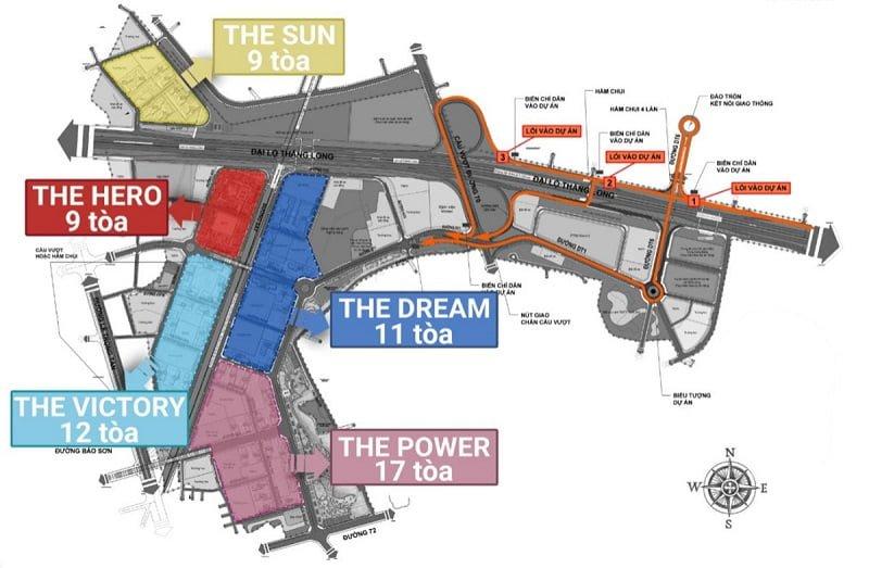 quy hoạch vinhomes smart city