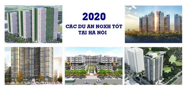 Các dự án nhà ở xã hội đang mở bán ở Hà Nội