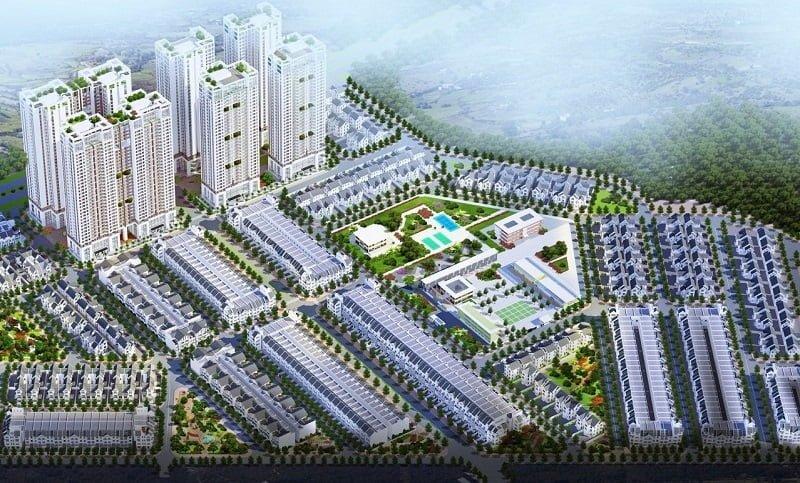 Khu đô thị mới Geleximco Lê Trọng Tấn
