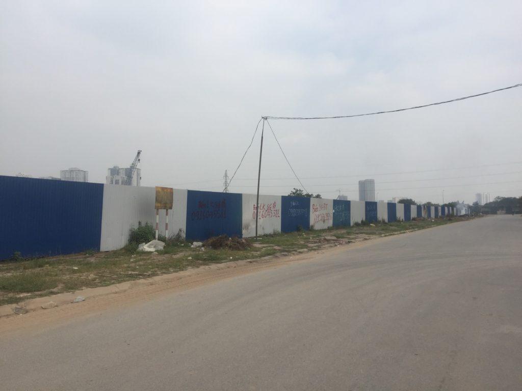 Tiến độ xây dựng chung cư Tây Nam Linh Đàm Hưng Thịnh