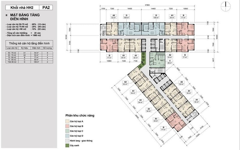 thiết kế chung cư Keplerland Mỗ Lao