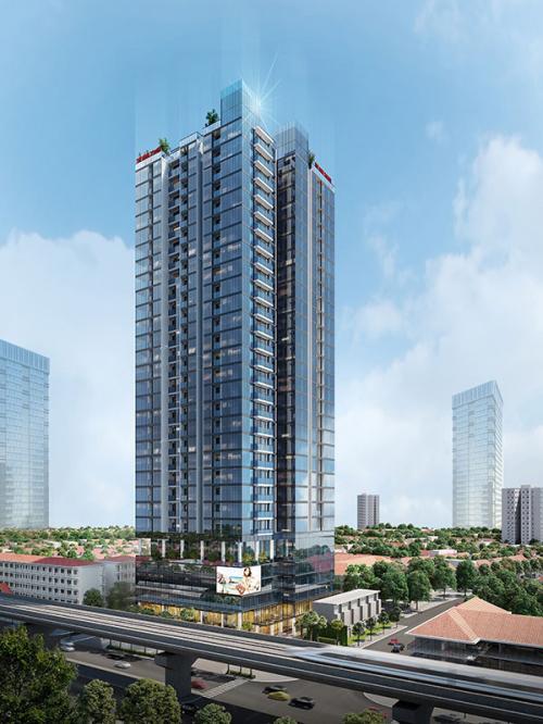Dự án chung cư The Nine Tower