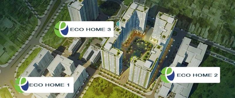 Nhà thu nhập thấp Eco Home 3 Cổ Nhuế