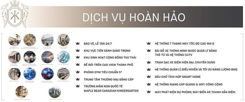 Dịch vụ hoàn hảo tại King Palace Nguyễn Trãi