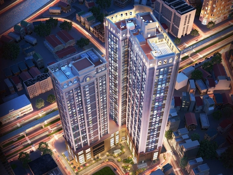Thiết kế chung cư King Palace Thanh Xuân