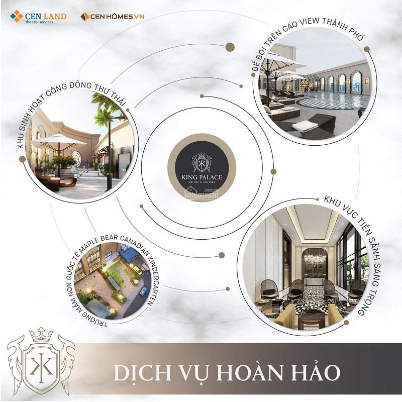 Dịch vụ tiện ích được trang bị bên trong King Palace 108 Nguyễn Trãi