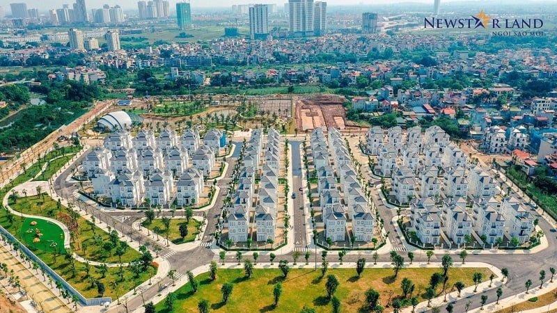Tiến độ Vinhomes Green Villas Tháng 4/2020