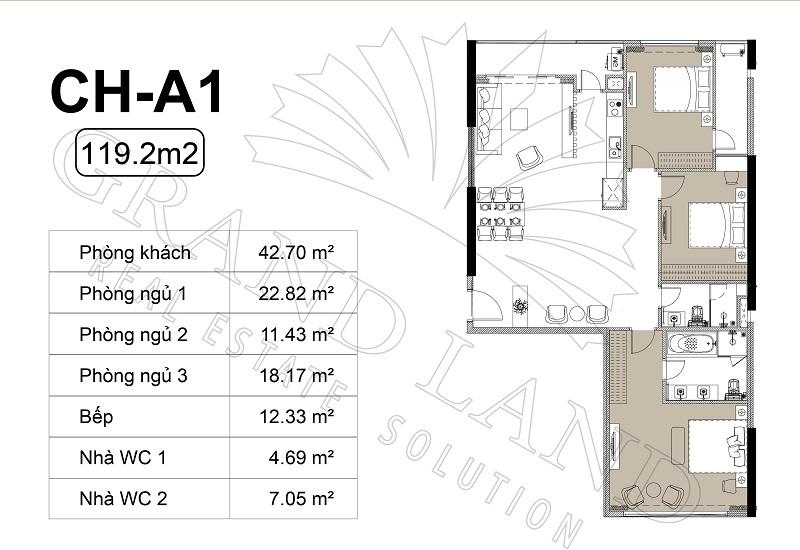 Thiết kế căn hộ chung cư Harmony Square 3