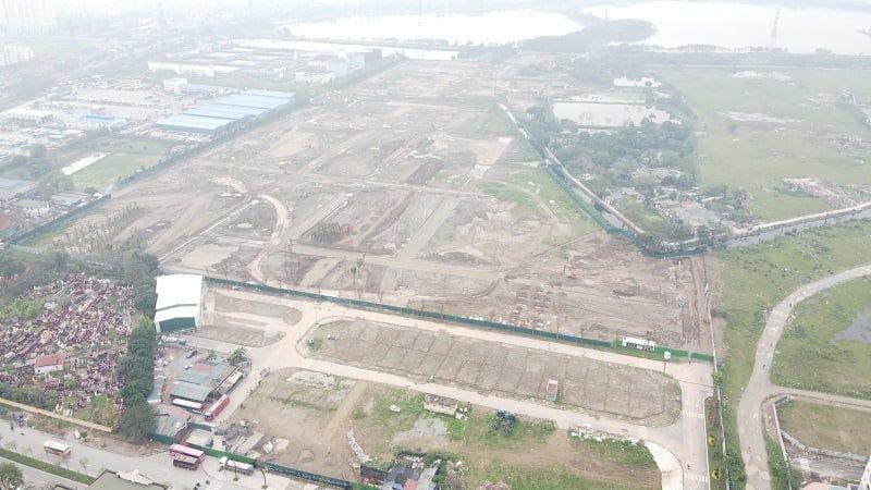 Tiến độ xây dựng dự án Louis City Tân Mai