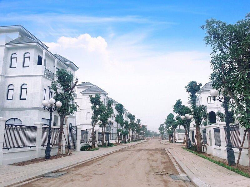 Tiến độ xây dựng Vinhomes Green Villas