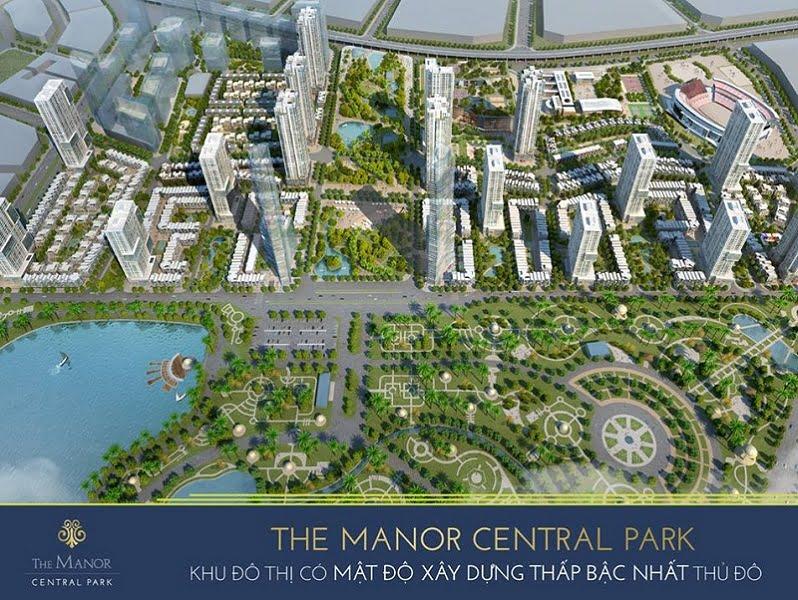 Đánh giá dự án The Manor Central Park