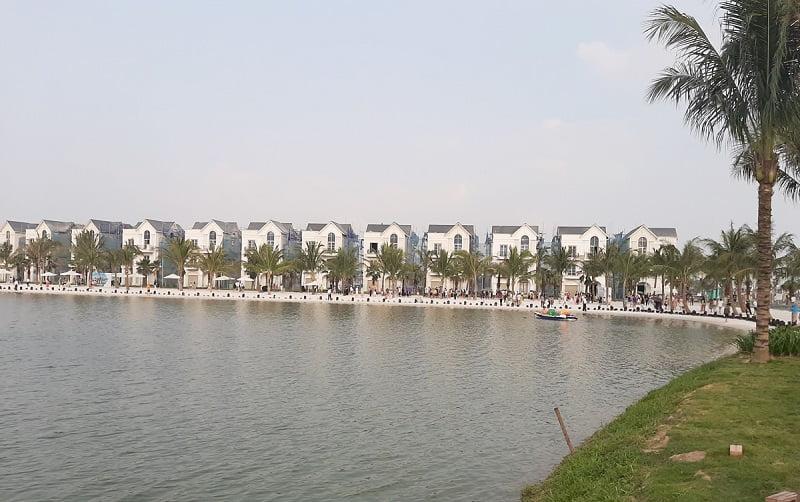 Tiến độ xây dựng biệt thự Vinhomes Ocean Park Gia Lâm