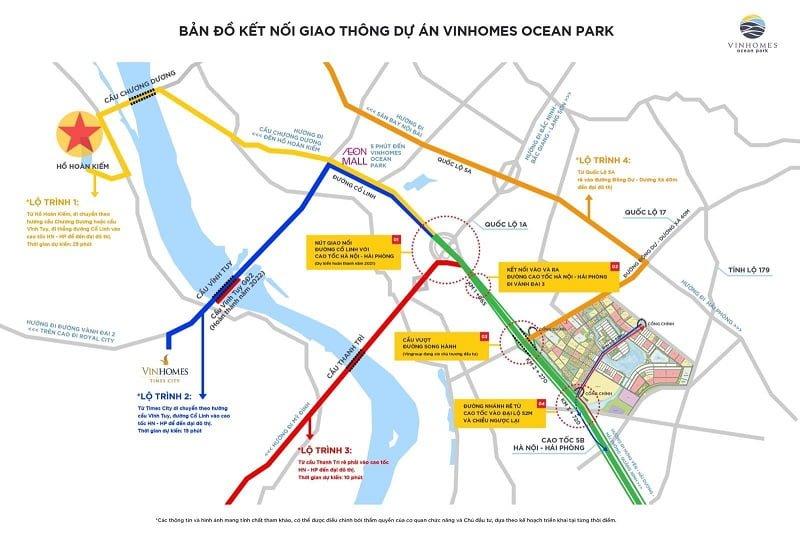 Vinhomes Ocean Park ở đâu