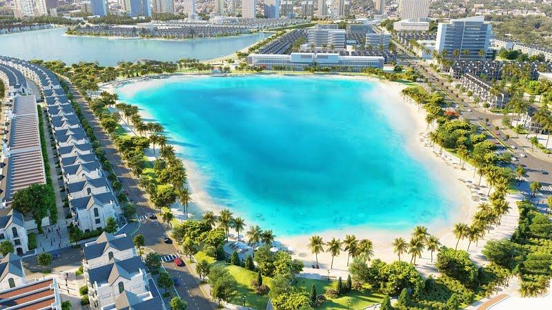 Biển hồ nhân tạo Vinhomes Ocean Park