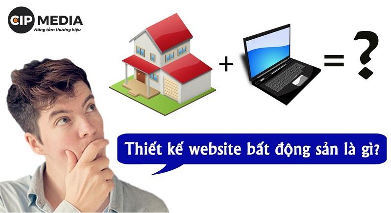 dịch vụ thiết kế website nhà đất bất động sản