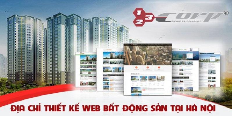 Địa chỉ thiết kế website bất động sản