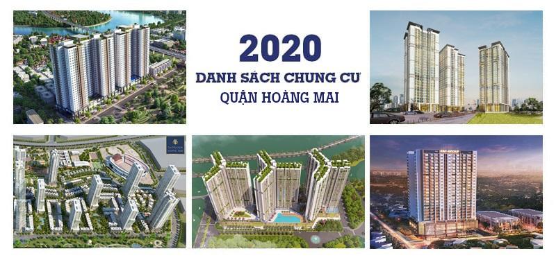 TOP 10 dự án Chung cư quận Hoàng Mai đang mở bán giá TỐT NHẤT