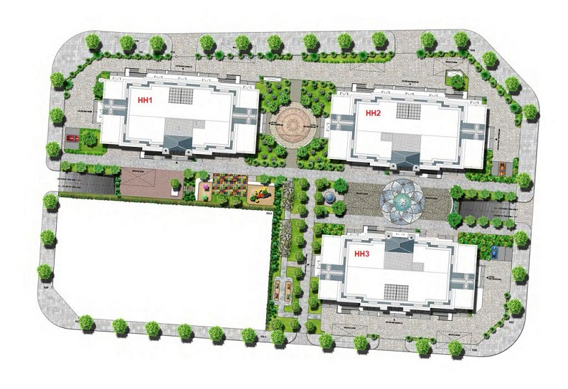 Mặt bằng thiết kế chung cư The Jade Orchid Garden