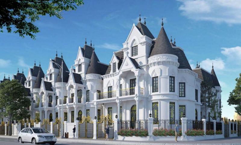 Mẫu thiết kế Biệt thự lâu đài The Jade Orchid Vimefulland Cổ Nhuế
