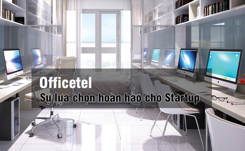 Căn hộ Officetel phù hợp với các Start-up