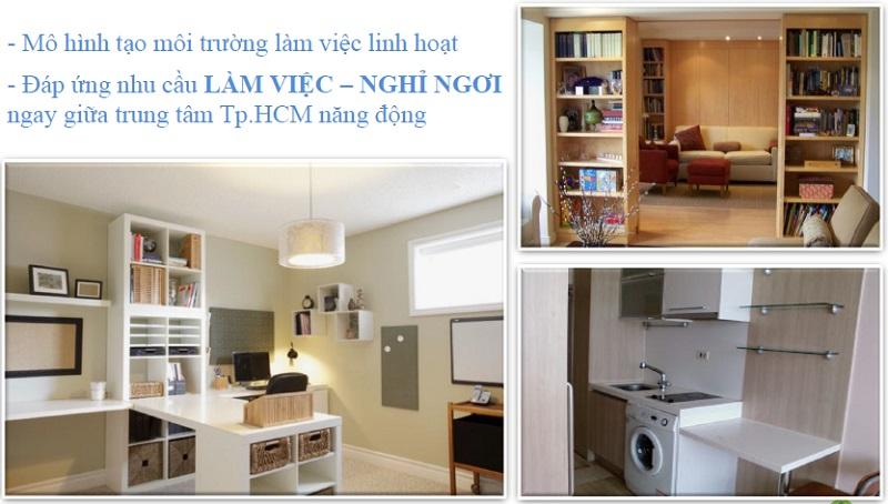 Officetel Hồ Chí Minh đang mở bán và cho thuê giá tốt