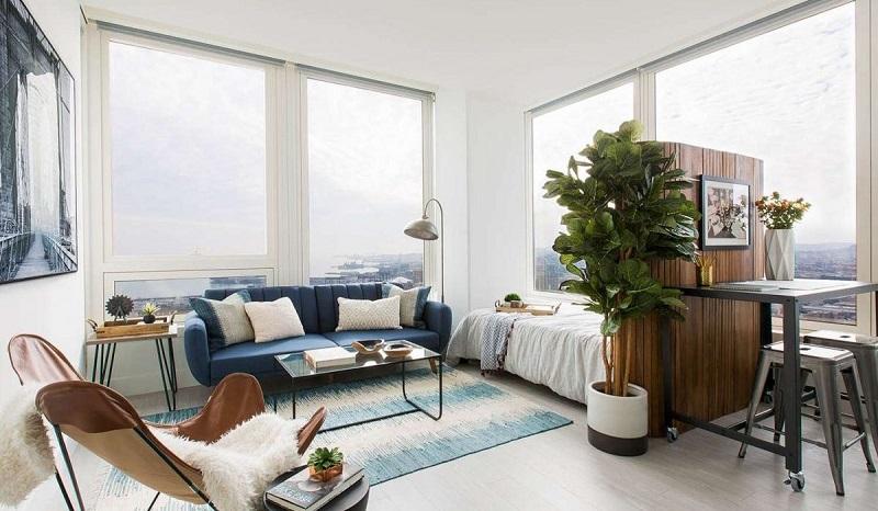 Mẫu thiết kế căn hộ Studio đẹp 3