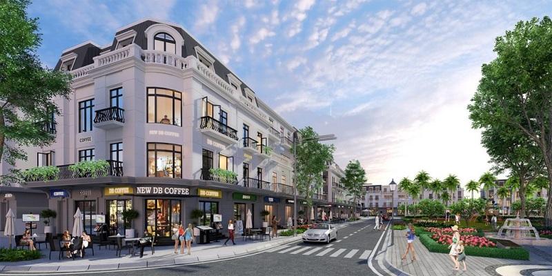 Mẫu thiết kế nhà phố thương mại Shophouse đẹp 2