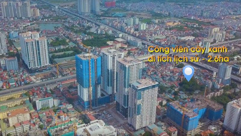 Tiến độ xây dựng dự án chung cư TNR Goldseason