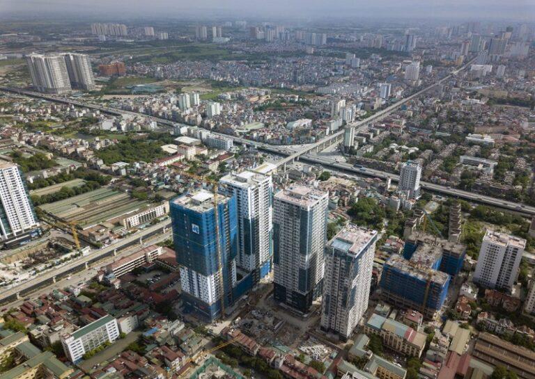 Tiến độ thực tế dự án Goldseason 47 Nguyễn Tuân