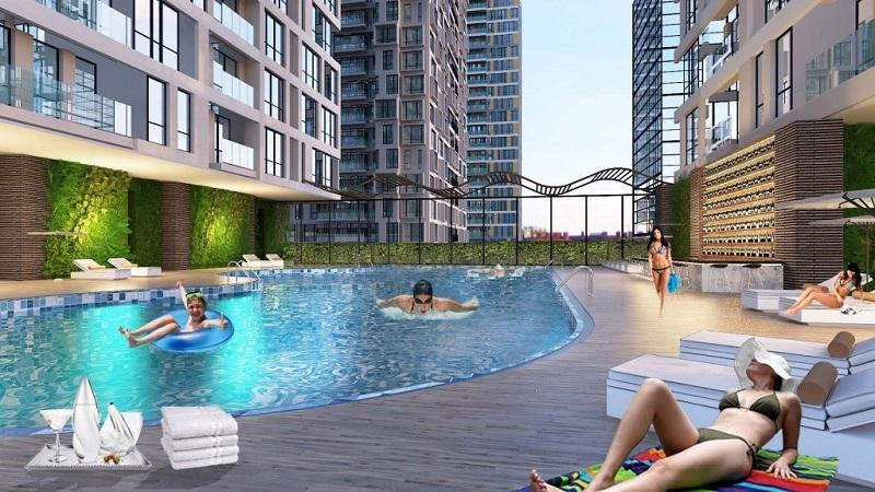 Bể bơi chung cư TNR Goldseason