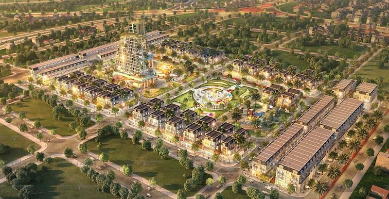 TNR Grand Palace được TNR Holdings phát triển tại Tp Thái Bình năm 2020