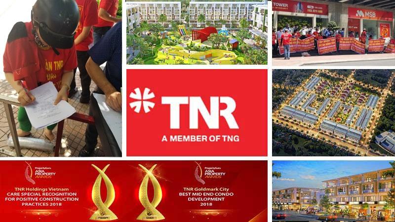 Các dự án BĐS do TNR Holdings đã quản lý và phát triển