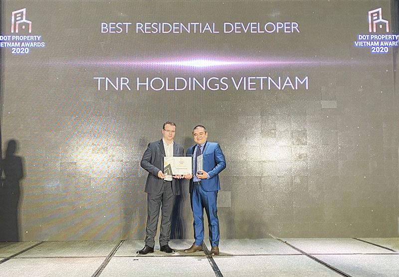 TNR Holdings nhận giải Nhà phát triển bất động sản nhà ở tốt nhất Việt Nam năm 2020