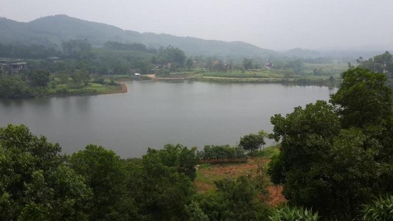 Ảnh thực tế dự án La Saveur Hòa Bình view Hồ Đồng Chanh