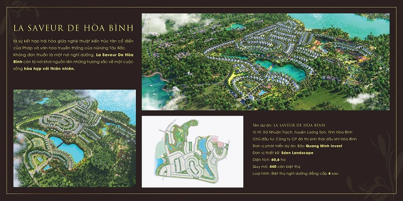 Giới thiệu tổng quan về dự án La Saveur Hòa Bình - Hồ Đồng Chanh