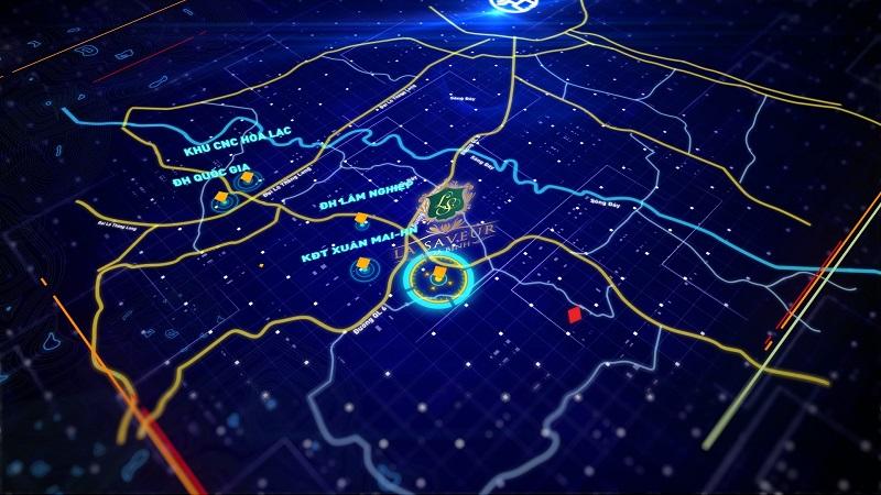 Vị trí Dự án La Saveur De Hòa Bình nằm ở xã Nhuận Trạch, huyện Lương Sơn, Hòa Bình