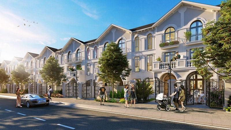 Mẫu thiết kế căn hộ liền kề đẹp 4