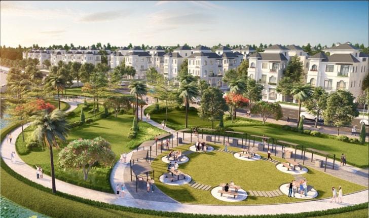 98 căn biệt thự đơn lập Vinhomes Green Villas đẳng cấp nhất phía Tây Hà Nội
