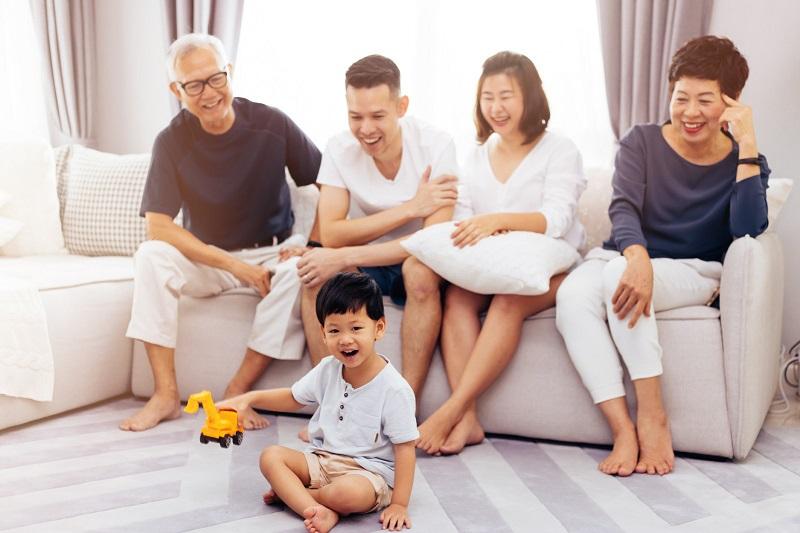 Căn hộ 2 chìa khóa cho gia đình đông thành viên