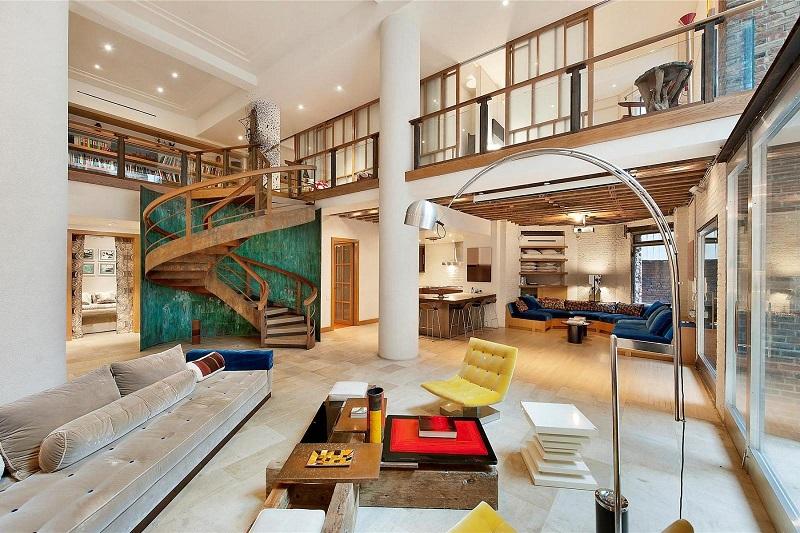 Căn hộ Duplex hay còn gọi là căn hộ thông tầng