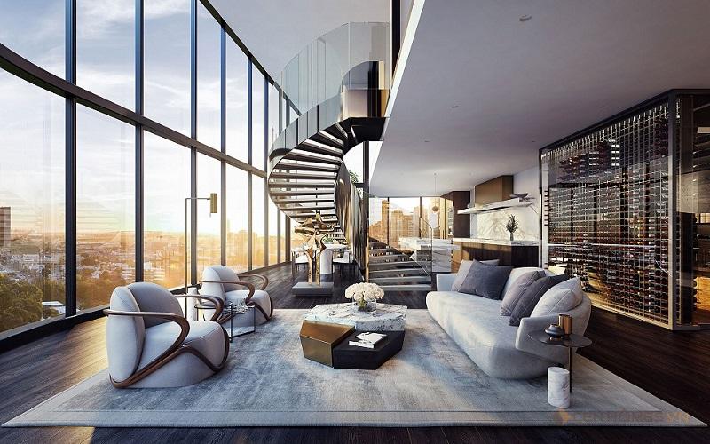 Mẫu thiết kế Penthouses đẹp nhất