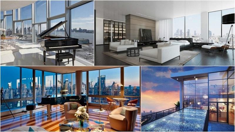 Mẫu căn hộ Penthouse đẹp