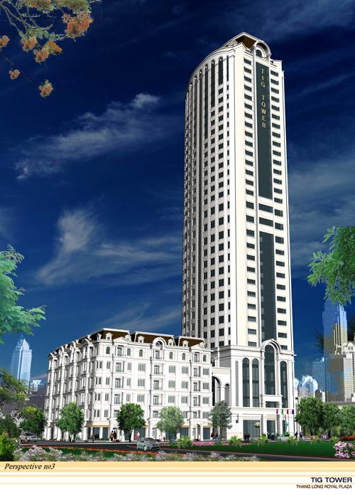 Chung cư Thăng Long Royal Plaza