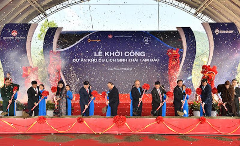 Sun Group khởi công dự án khu sinh thái Tam Đảo