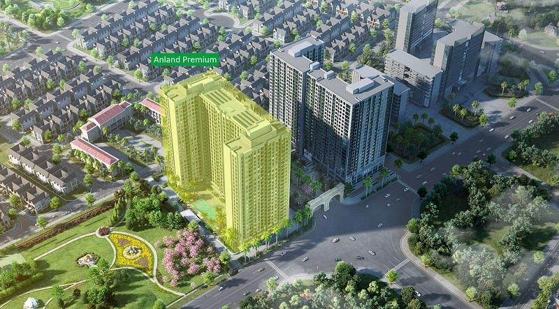 Dự án Anland Premium tại mặt đường Tố Hữu của chủ đầu tư Nam Cường