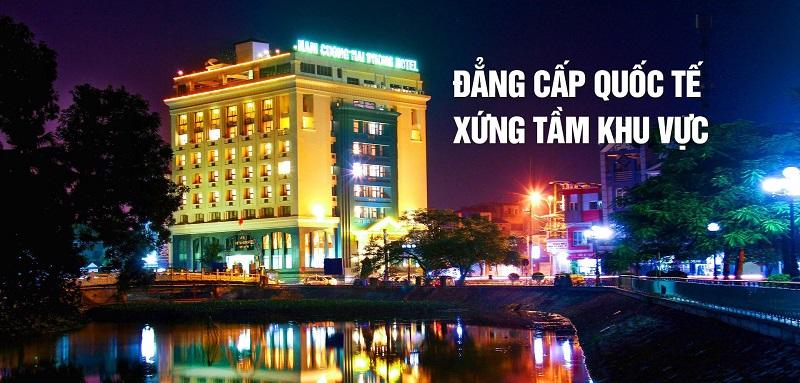 Dự án khách sạn đẳng cấp mang thượng hiệu tập đoàn Nam Cường