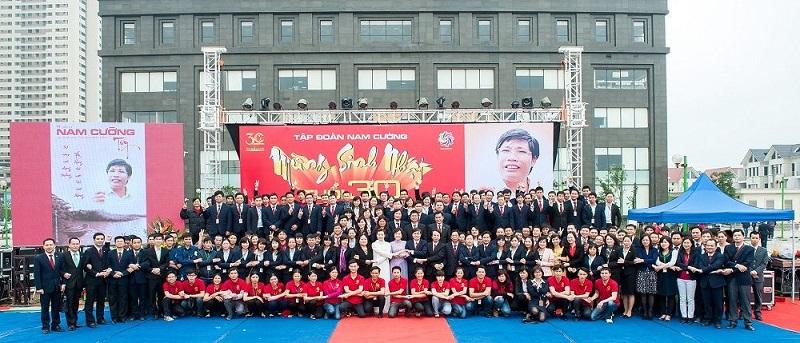 Đội ngũ mạnh mẽ trong tập đoàn Nam Cường Group